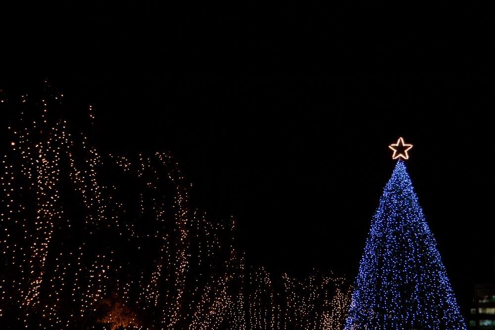 クリスマスツリーのトップスター